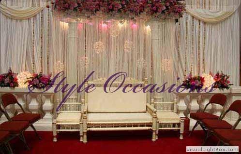 asian wedding stage setupc2 - Asian Wedding On A Budget